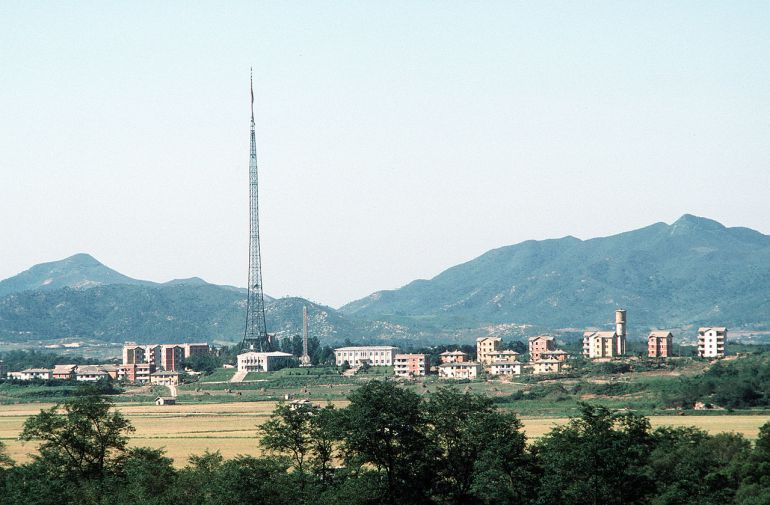 North Korean Propaganda village