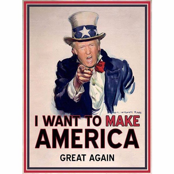 Uncle Donald wants you